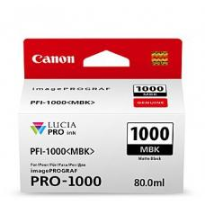 Canon PFI1000 Mat Black Ink Cartridge  - PFI1000MBK