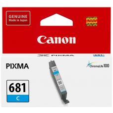 Canon CLI681 Cyan Ink Cartridge 250 pages ISO/IEC 24711 - CLI681C