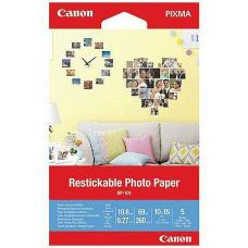 Canon Restickable Photo Paper 5 Sheets - RP-101