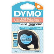 Dymo LT Plastic 12mm x 4m Colour 12mm x 4m - 16952