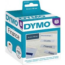 Dymo LW File Label 12mm x 50mm 12mm x 50mm - S0722460