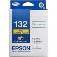Epson 132 Ink Value Pack  - C13T132692
