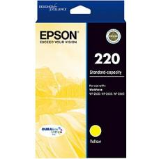 Epson 220 Yellow Ink Cartridge 165 pages - C13T293492