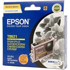 Epson T0621 HY Black Ink Cartridge 450 pages - C13T062190