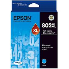 Epson 802 Cyan XL Ink Cartridge  - C13T356292