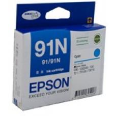 Epson 91N Cyan Ink Cartridge 215 pages - C13T107292
