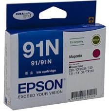Epson 91N Magenta Ink Cartridge 215 pages - C13T107392