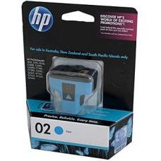 HP #02 Cyan Ink Cartridge C8771WA 350 pages - C8771WA