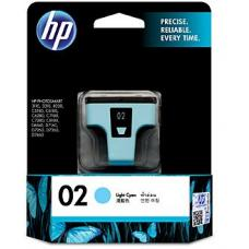 HP #02 Light Cyan Ink C8774WA 350 pages - C8774WA