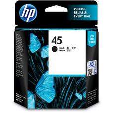 HP #45 Black Ink Cartridge 51645AA 833 pages - 51645AA