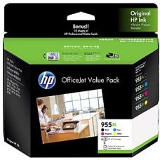 HP #955XL Ink Value Pack  - 2PD46A