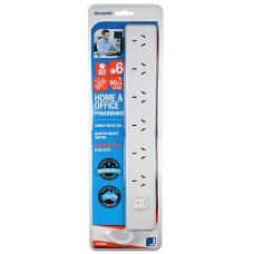 Jackson 6 Way Powerboard 90cm  - PT5966