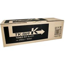 Kyocera TK869K Black Toner 20,000 pages - TK-869K