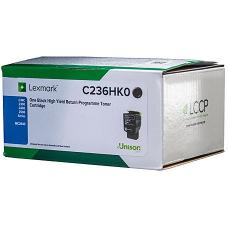 Lexmark C236 HY Black Toner 3,000 pages - C236HK0