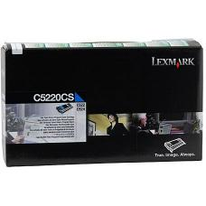 Lexmark C5220CS Cyan Prebate Cartridge 3,000 pages - C5220CS