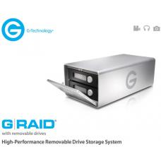 G-RAID High Performance Removable 8TB Dual Drive Storage System, 2x Firewire, eSATA, USB 3.0. 300MB/s, RAID 0, 1, OR JBOD. 0G03246