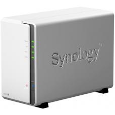 Synology DiskStation DS218J 2-Bay 3.5' Diskless 1xGbE NAS (Tower) (HMB), Marvell 1.3GHz, 512MB RAM, 2xUSB3.0, 2 Yr Warranty DS218J