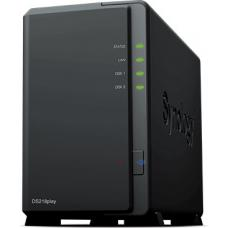Synology DiskStation DS218PLAY 2-Bay 3.5' Diskless 1xGbE NAS (HMB), Realtek RTD1296 quad-core 1.4GHz, 1GB RAM, USB3.0 x 2 - 2 Year Warranty DS218PLAY