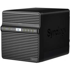 Synology DiskStation DS420j 4-Bay 3.5' Diskless 1xGbE NAS, Realtek RTD1296 4-core 1.4GHz, SATA USB3.0x 2, Adapter 90 W 2 Yr Wty DS420J
