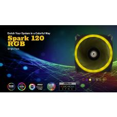 Antec SPARK 120 RGB Dual-Ring Design, Hydraulic Bearing, LED PWM Fan. 2 Years Warranty Spark 120 RGB