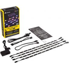 CORSAIR Lighting Node PRO with 4x RGB LED Strips and Controller. 2x RGB FAN Hub CL-9011109-WW