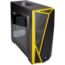 CORSAIR Carbide SPEC-04 Mid-Tower Gaming Case, Black & Yellow CC-9011108-WW