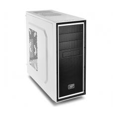 Deepcool Tesseract BF Mid Tower Case, 1 x 120mm Fan, White TESSERACT BF WH