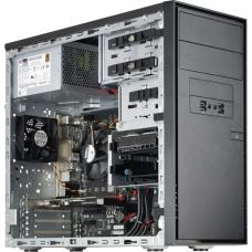 Supermicro SuperChassis DS3A-261B, Mini Tower, Suits mATX MB, Tool Less, 2 x Front USB 3.0, 2 x 5.25' Drive bay, 2 x 3.5' HDD Bay, 300w 80Plus Bronze DS3A-261B