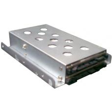 TGC Chassis Accessory 1 x 3.5' to 2 x 2.5' HDD/SSD Tray Converter Silver TGC-02A