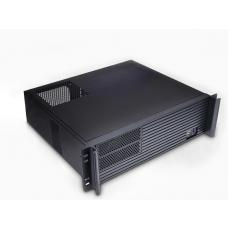 TGC Rack Mountable Server Chassis 3U 380mm Depth, 2x Ext 5.25' Bays, 7-8x Int 3.5' Bays, 4x Full Height PCIE Slots, ATX PSU/MB TGC-32380