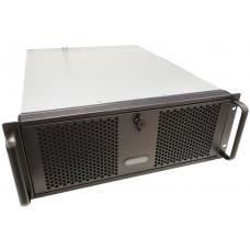 TGC Rack Mountable Server Chassis 4U 570mm Depth, 6x Ext 5.25' Bays, 4x Int 3.5' Bays, 8x Full Height PCIE Slots, ATX PSU/MB RM400 TGC-4450MG-2