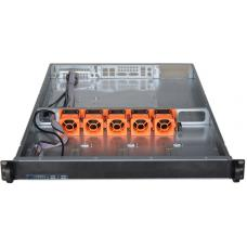 TGC Rack Mountable Server Chassis 1U 650mm Depth, 4x 3.5' Int Bays, 1 x Full Height PCIE Slots, ATX MB, 1U PSU TGC-H1-650