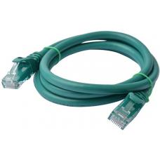 8Ware Cat6a UTP Ethernet Cable 1m Snagless Green PL6A-1GRN