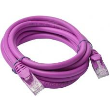 8Ware Cat6a UTP Ethernet Cable 2m Snagless Purple PL6A-2PUR