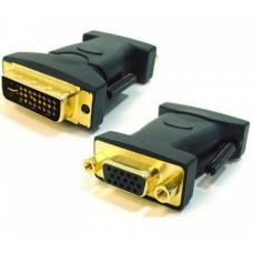Astrotek DVI to VGA Adapter Converter 24+5 pins Male to 15 pins Female Gold Plated AT-DVIVGA-MF