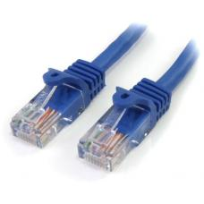 Astrotek CAT5e Cable 0.5m/50cm - Blue Color Premium RJ45 Ethernet Network LAN UTP Patch Cord 26AWG AT-RJ45BL-0.5M