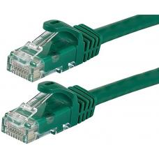 Astrotek CAT6 Cable 50cm - Green Color Premium RJ45 Ethernet Network LAN UTP Patch Cord 26AWG-CCA PVC Jacket AT-RJ45GRNU6-05M