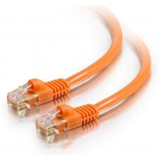 Astrotek CAT6 Cable 1m - Orange Color Premium RJ45 Ethernet Network LAN UTP Patch Cord 26AWG-CCA PVC Jacket AT-RJ45OR6-1M
