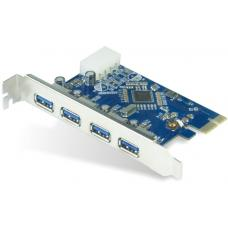 Astrotek 4x Ports USB 3.0 PCIe PCI Express Add-on Card Adapter 5Gbps Windows XP/7/8/10 Server 2008 & later Renesas 720201 Chipset ~USSUN-USB4300NS AT-U3PCICARD