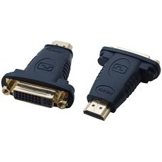 Cabac HDMI to DVI Adapter HDMI Male to DVI Female Adaptor LS HHDMIM-DVIF