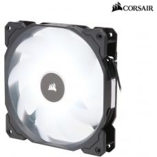 Corsair Air Flow 140mm Fan Low Noise Edition / White LED 3 PIN - Hydraulic Bearing, 1.43mm H2O. Superior cooling performance and LED illumination  CO-9050085-WW