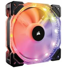 Corsair HD 140mm PWM RGB LED Fan. 12 independent RGB LEDs. High static pressure tuned for optimal air delivery. CO-9050068-WW