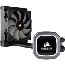 Corsair H60 v2 120mm Liquid CPU Cooler. LED Illuminated Pump Head, Efficient cool plate and pump. 1x12CM PWM, 1200, 115x, 1366, 2011/2066, AM2/3/4 CW-9060036-WW