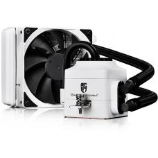 Deepcool Gamer Storm Captain 120EX AIO Liquid Cooling, WHITE (Free AM4 Clip)Intel: LGA 20XX 1366 115X AM4 AM3+ AM3 AM2 FM2+ FM2 FM1 CAPTAIN 120EX WH