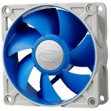 Deepcool Ultra Silent 80mm x 25mm Ball Bearing Case Fan with Anti-Vibration Frame PWM UF 80