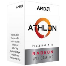 AMD Athlon 200GE, 4 Core AM4 CPU, 3.2GHz 4MB 35W with powerfull Radeon Vega Graphics YD200GC6FBBOX