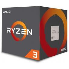 AMD Ryzen 3 1200 CPU Quad Core AM4, 3.4GHz, 10MB Cache, 65W, With Wraith Cooler, Boxed 3 Years Warranty YD1200BBAEBOX