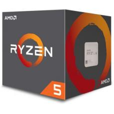 AMD Ryzen 5 1600 CPU 6 Core 3.2GHz Base Speed with Turbo Speed 3.6GHz AM4 65w 19MB L3 cache Boxed 3 Years Warranty - Includes AMD Wraith Fan YD1600BBAEBOX