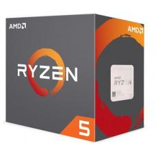 AMD Ryzen 5 2400G, 4 Core AM4 CPU, 3.9GHz 6MB 65W w/Wraith Stealth Cooler Fan RX Vega Graphics Box YD2400C5FBBOX