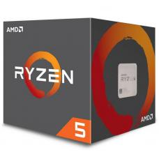 AMD Ryzen 5 2600X, 6 Cores AM4 CPU, 4.25GHz 19MB 95W w/Wraith Spire Cooler Fan Box YD260XBCAFBOX -P